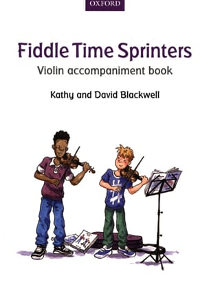 Fiddle Time Sprinters - Violon accompaniment book laflutedepan