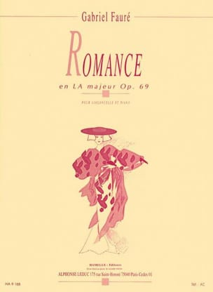 Gabriel Fauré - Romance in LA Major opus 69 - Sheet Music - di-arezzo.co.uk
