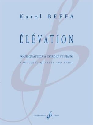 Elévation - Karol Beffa - Partition - Quintettes - laflutedepan.com