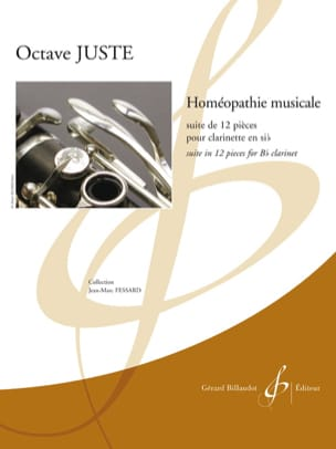 Octave Juste - Musical homeopathy - Sheet Music - di-arezzo.co.uk