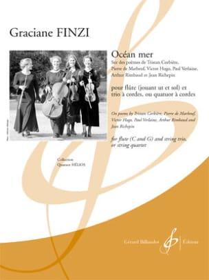 Océan mer - Graciane Finzi - Partition - Quatuors - laflutedepan.com