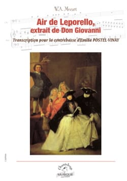 Air de Léporello - Wolfgang Amadeus Mozart - laflutedepan.com