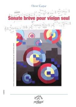 Olivier Kaspar - Sonate brève - Partition - di-arezzo.fr