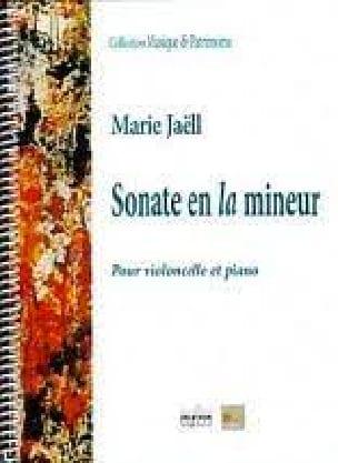 Marie Jaëll - Sonate en la mineur - Partition - di-arezzo.fr