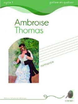 Romance - Ambroise Thomas - Partition - Guitare - laflutedepan.com