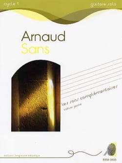 Arnaud Sans - Complementary Sounds - Yellow Notebook - Sheet Music - di-arezzo.com