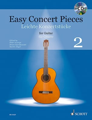 - Easy Concert Pieces for guitar Volume 2 - Partition - di-arezzo.fr