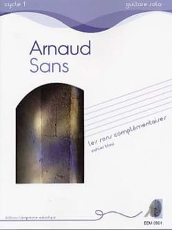 Arnaud Sans - Complementary sounds - blue notebook - Sheet Music - di-arezzo.com