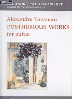 Alexandre Tansman - Posthumous works - Sheet Music - di-arezzo.co.uk