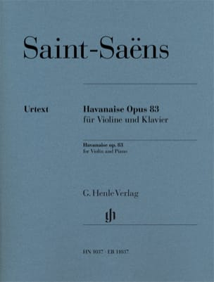 Camille Saint-Saëns - Havanese, Op. 83 - Sheet Music - di-arezzo.co.uk