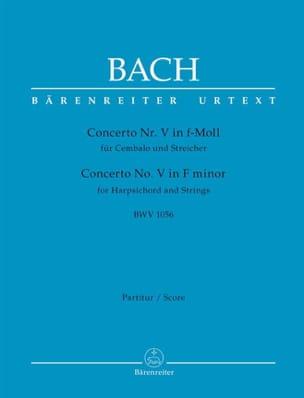 Concerto n° 5, BWV 1056 - Johann Sebastian Bach - laflutedepan.com
