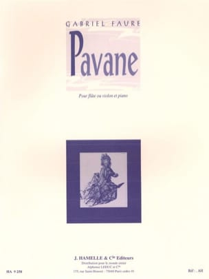 Gabriel Fauré - Pavane Op. 50 - Sheet Music - di-arezzo.co.uk