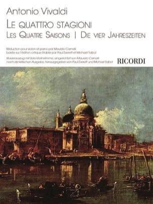 VIVALDI - Les Quatre Saisons - Violon et piano - Partition - di-arezzo.fr