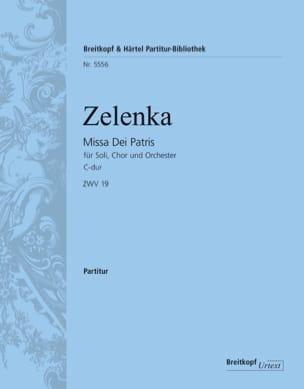 Missa Dei Patris, ZWV 19 - Conducteur - laflutedepan.com