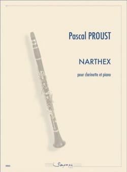 Pascal Proust - narthex - Sheet Music - di-arezzo.co.uk