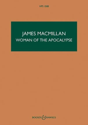 James MacMillan - Woman of the Apocalypse - Partition - di-arezzo.fr