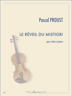 Pascal Proust - Le Réveil du Mistigri - Partition - di-arezzo.fr