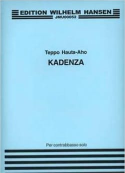 Kadenza for Double Bass Teppo Hauta-Aho Partition laflutedepan