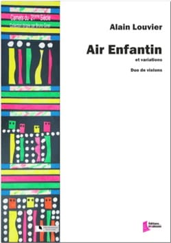 Alain Louvier - Childish air - Sheet Music - di-arezzo.com