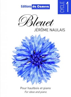Bleuet - Jérôme Naulais - Partition - Hautbois - laflutedepan.com