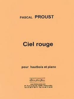 Pascal Proust - Red sky - Sheet Music - di-arezzo.com