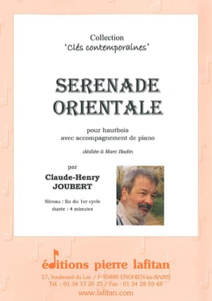 Claude-Henry Joubert - Eastern Serenade - Sheet Music - di-arezzo.com