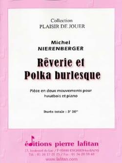 Rêverie et polka burlesque Michel Nierenberger Partition laflutedepan
