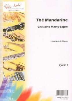 Thé mandarine Christine Marty-Lejon Partition Hautbois - laflutedepan