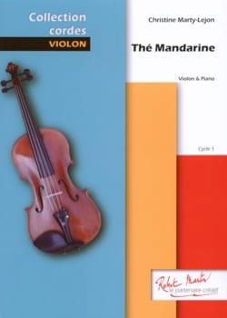 Thé mandarine Christine Marty-Lejon Partition Violon - laflutedepan