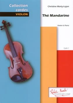 Christine Marty-Lejon - Thé mandarine - Partition - di-arezzo.fr