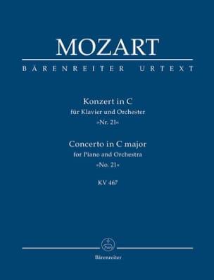 Wolfgang Amadeus Mozart - Klavierkonzert Nr 21 C-Dur KV 467 - Conducteur - Partition - di-arezzo.fr