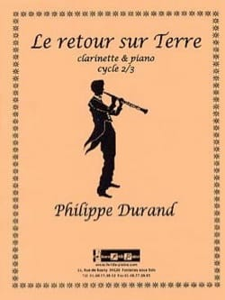Philippe Durand - Return to Earth - Sheet Music - di-arezzo.co.uk