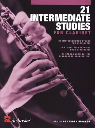 Paula Crasborn-Mooren - 21 Intermediate Studies - Sheet Music - di-arezzo.co.uk