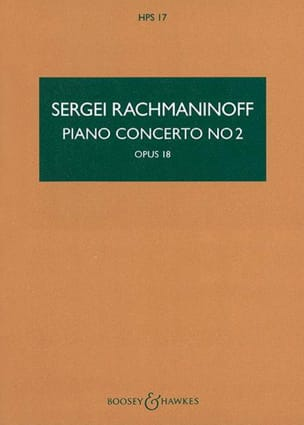 RACHMANINOV - Concerto for Piano and Orchestra No. 2 Op. 18 Conductor - Sheet Music - di-arezzo.co.uk