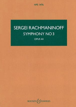 Symphonie n° 3 - Conducteur RACHMANINOV Partition laflutedepan