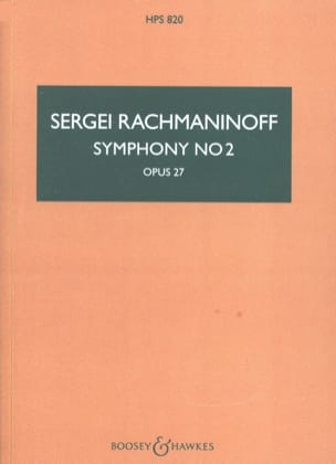Symphonie n° 2 - Conducteur RACHMANINOV Partition laflutedepan