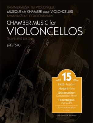 - Chamber Music for Cellos - Volume 15 - Partition - di-arezzo.fr