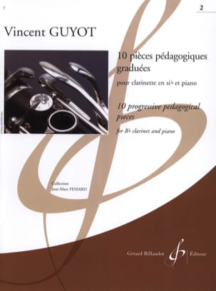 Vincent Guyot - 10 graduated teaching pieces - Volume 2 - Sheet Music - di-arezzo.co.uk
