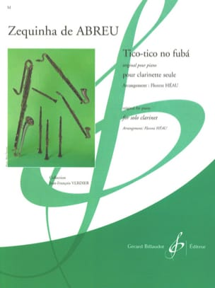 Zequinha de Abreu - Tico Tico no fuba - Sheet Music - di-arezzo.co.uk