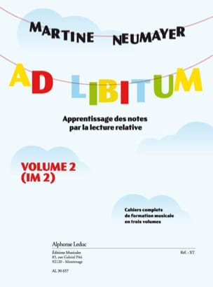 Martine Neumayer - Ad Libitum - Volume 2 - Sheet Music - di-arezzo.co.uk