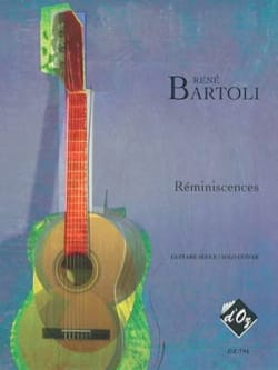 René Bartoli - Réminiscences - Partition - di-arezzo.fr