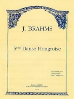 Johannes Brahms - Danse Hongroise n° 5 (Chapelier) - Partition - di-arezzo.fr