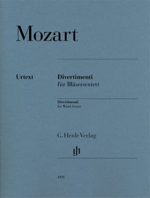 MOZART - Divertimenti - Partition - di-arezzo.fr