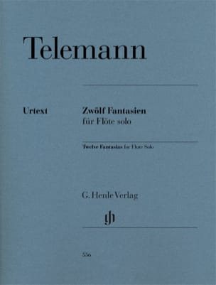 TELEMANN - 12 Fantaisies - Partition - di-arezzo.fr