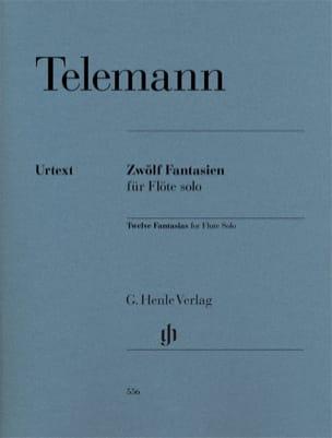TELEMANN - 12 Fantasies - Sheet Music - di-arezzo.com