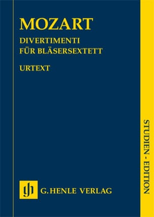 MOZART - Divertimenti - Urtext - Partitura - di-arezzo.it