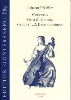 Johann Pfeiffer - Concerto Viola di Gamba - Sheet Music - di-arezzo.com