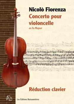 Nicolo Fiorenza - Concerto pour Violoncelle en Fa Majeur - Partition - di-arezzo.fr