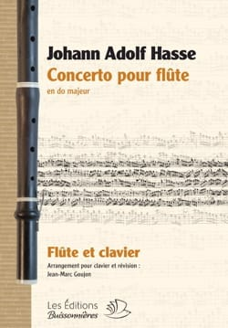 Concerto pour Flûte en Do Majeur Johann Adolf Hasse laflutedepan
