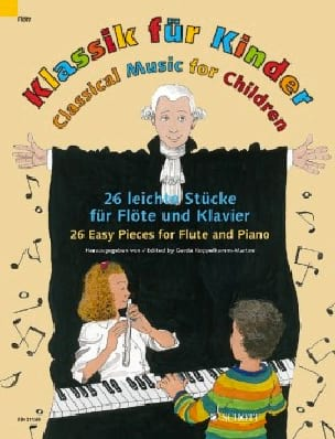 - Klassik für Kinder - Flûte et Piano - Partition - di-arezzo.fr